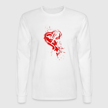 Heartless Heartless Splatter - Men's Long Sleeve T-Shirt