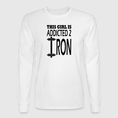 iron - Men's Long Sleeve T-Shirt