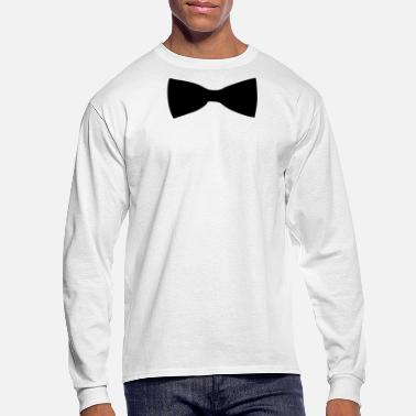 Suit Bow Tie - Men's Long Sleeve T-Shirt