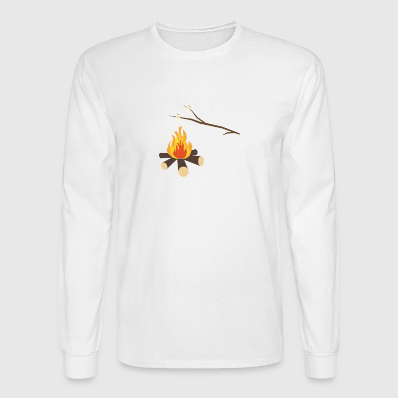 Campfire with marshmallows - Men's Long Sleeve T-Shirt