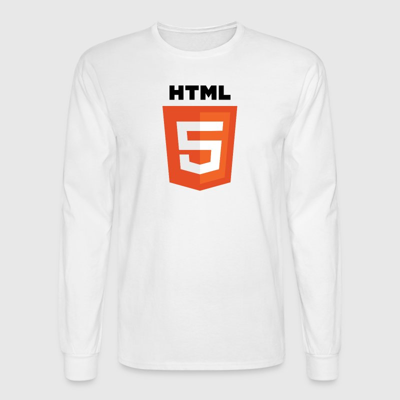 html5 - Men's Long Sleeve T-Shirt