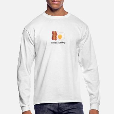 Bacon Eggs and bacon - Men's Long Sleeve T-Shirt
