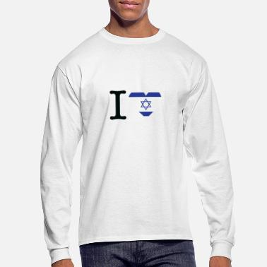 Stand I Love Israel - Men's Long Sleeve T-Shirt