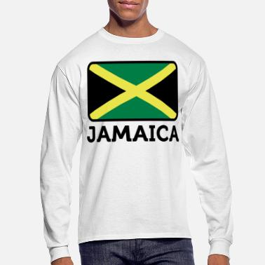 Jamaica Flag Jamaica 2 (3c)++ - Men's Long Sleeve T-Shirt