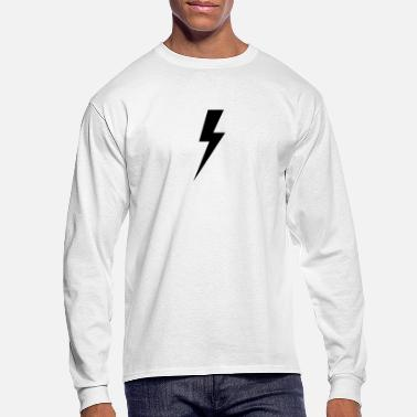 Black Light LIGHTING BLACK - Men's Longsleeve Shirt