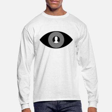 Monitoring illuminati eye monitoring - Men's Longsleeve Shirt