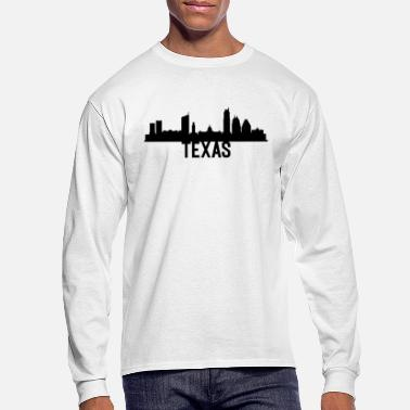 Texas US State Design For Texans Americans - Men's Longsleeve Shirt