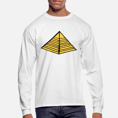 Egypt Pyramid - Men's Longsleeve Shirt