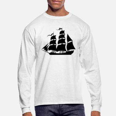 Sailboat Sailboat - Men's Longsleeve Shirt