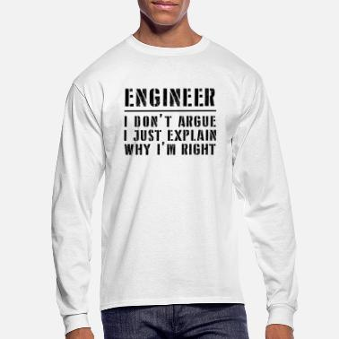 Engineer Funny Engineer - Men's Longsleeve Shirt