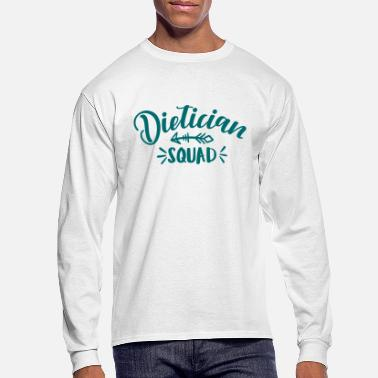 Dietician Dietician, school dietician, nutrition - Men's Longsleeve Shirt