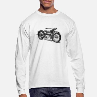 Motorcycle 1929 Cleveland Motorcycle Long Sleeve T-shirt - Men's Longsleeve Shirt