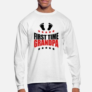 First Time The first Grandpa times first time GPA baby - Men's Longsleeve Shirt