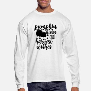 Fall Thanksgiving Fall Bundle PUMPKIN KISSES - Men's Longsleeve Shirt