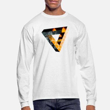 Endless Endless Triangle - Halloween - Men's Longsleeve Shirt