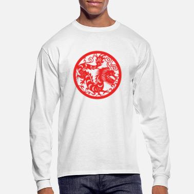 Chinese New Years - Zodiac - Year of the Dragon - Men's Longsleeve Shirt