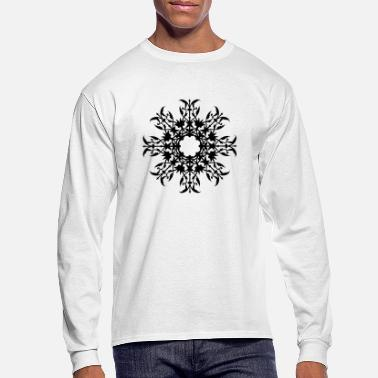 Octagon Ornament with octagonal symmetry 3 - Men's Longsleeve Shirt