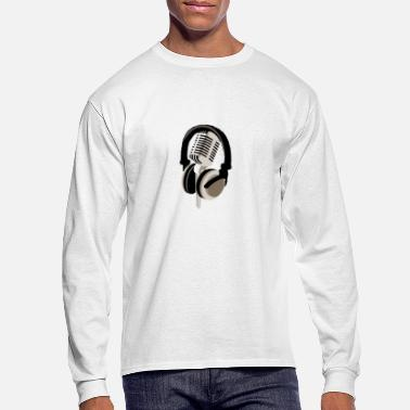 Headphones Headphones - Men's Longsleeve Shirt