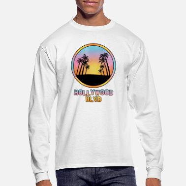 Hollywood Hollywood Blvd - Men's Longsleeve Shirt
