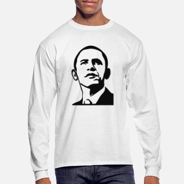 Obama Barack Obama - Men's Longsleeve Shirt