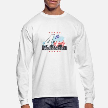 Independence Day 4th of July Independence Day - Men's Longsleeve Shirt