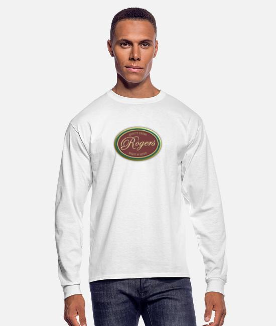 Jazz Long-Sleeved Shirts - ‏‏Rogers Vintage - Men's Longsleeve Shirt white