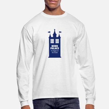 Palace When Fandoms Collide: Mind Tardis - Men's Longsleeve Shirt