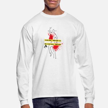 Scene crime scene - Men's Longsleeve Shirt
