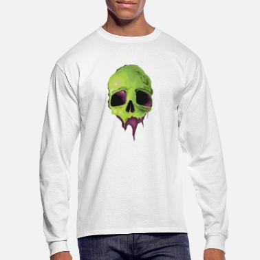 VK Liquid Skull - Men's Longsleeve Shirt
