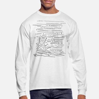 Pleasant Sunset - Men's Longsleeve Shirt