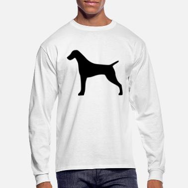 German Shorthaired Pointer - Men's Longsleeve Shirt