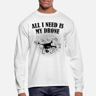 Ground Pilot Drone ground pilot - Men's Longsleeve Shirt