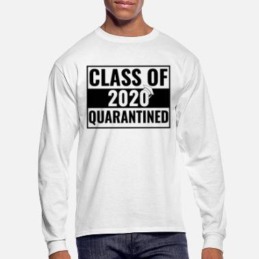 High School Senior Class of 2020 Quarantined Senior Graduate 2020 - Men's Longsleeve Shirt