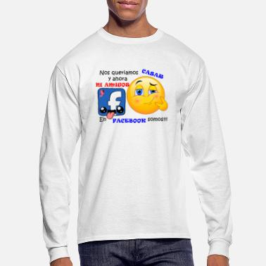 Facebook FACEBOOK LOVE - Men's Longsleeve Shirt