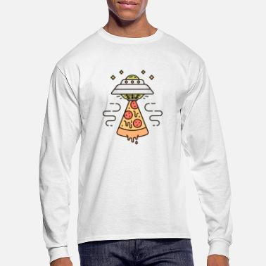Pizza Ufo Pizza UFO - Men's Longsleeve Shirt