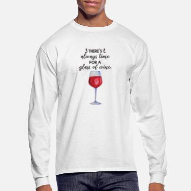 Vodka Theres always time for a - Men's Longsleeve Shirt