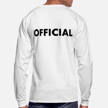 Official Person OFFICIAL - Men's Long Sleeve T-Shirt