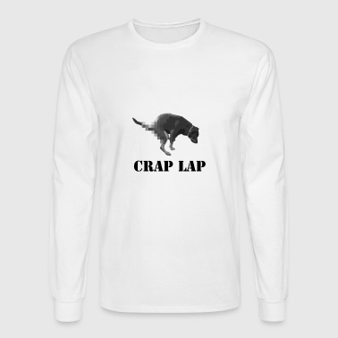 Crap Lap - Men's Long Sleeve T-Shirt