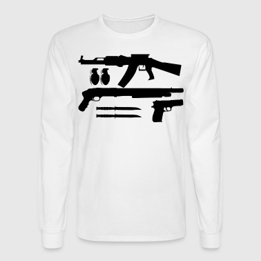 Weapons - Men's Long Sleeve T-Shirt