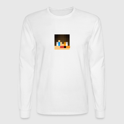 my skin face - Men's Long Sleeve T-Shirt