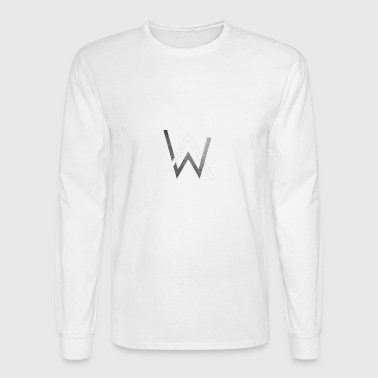 Alan Walker Mask - Men's Long Sleeve T-Shirt