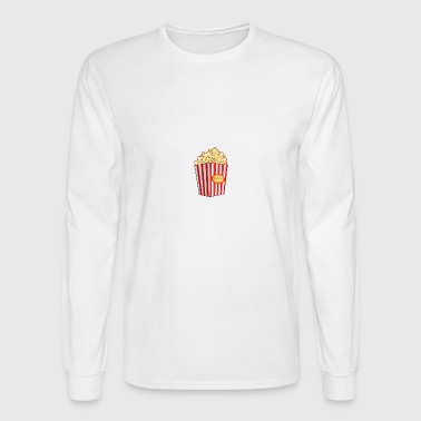 Popcorn - Men's Long Sleeve T-Shirt
