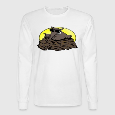 animal pet mole - Men's Long Sleeve T-Shirt