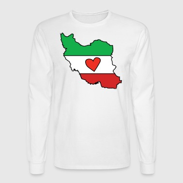 Iran Love - Men's Long Sleeve T-Shirt