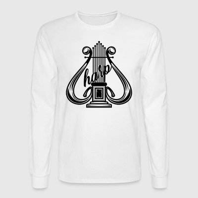 Harp Shirt - Men's Long Sleeve T-Shirt