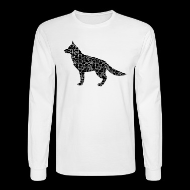 German Shepherd Tee - Men's Long Sleeve T-Shirt