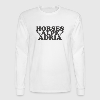Horses Alpe Adria - Men's Long Sleeve T-Shirt
