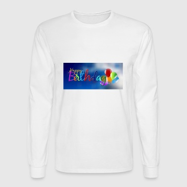 birthday - Men's Long Sleeve T-Shirt
