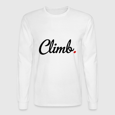 climb - Men's Long Sleeve T-Shirt