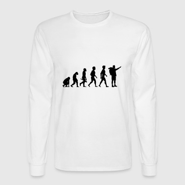 Wandern Wanderung Klettern Berg Evolution - Men's Long Sleeve T-Shirt